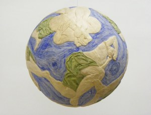 Planet Man  (Suspended Sphere)