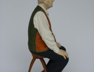 Philip Pullman Seated (Priv. Coll. UK)